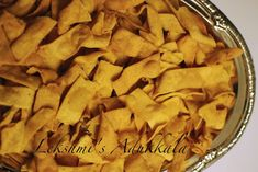 Lekshmi's Adukkala: Pakkavada Diwali Snacks, Tea Time Snacks, Apple Pie, Fries, Spicy, Snack Recipes, Appetizers, Desi, Desserts
