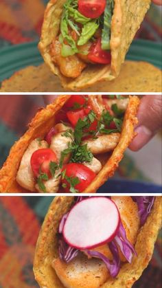 Taco night just got a whole lot healthier with surprisingly delicious shells made of zucchini, cauliflower and carrots.