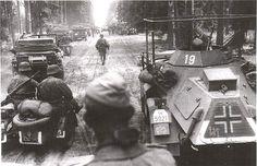 "Moving forward, German Waffen SS 2nd Panzer Division, ""Das Reich""...,MAR16"