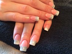 Funky French nails!