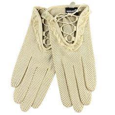 IN BLACK!!  WARMEN Women's Genuine Lambskin Comfortable Perforated Leather Gloves Laced Up (L, Beige) WARMEN,http://www.amazon.com/dp/B008I0JAYQ/ref=cm_sw_r_pi_dp_oc2ltb19PM11ZCV6