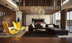 Streifen aus Holz verwendet, um einen einzigartigen Akzent Wand zu schaffen https://www.aliexpress.com/store/product/New-Brand-Contemporary-AJ-Colorful-Metal-Minimalist-Table-Lamp-Living-Room-Bedroom-Study-Desk-Lights-Homedecoration/1248587_32587014262.html?spm=2114.12010612.0.0.zwTAyn #architecture #design #AJ #art #light
