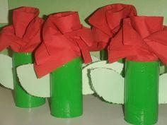 Rosa de Sant Jordi. P3 Escola Sant Pau-Figueres