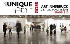Kunstmessen 2016: ART Innsbruck – Mit der ART Innsbruck beginnen wir das Kunstjahr 2016. Vom 28. bis ...