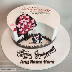 Just created name [my sweet alan] on Happy Marriage Anniversary Cake With Name image. Hope you will like this Write Name On Anniversary Cake Online pic with name. Happy Marriage Anniversary Cake, Anniversary Cake Designs, Anniversary Cake With Name, Wedding Anniversary Cakes, Anniversary Ideas, Anniversary Scrapbook, Anniversary Decorations, Aniversary Cakes, Birthday Cake For Husband