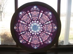 Rose window Cutout Rose Window, Shadow Puppets, Art School, Lanterns, Decorative Plates, Projects To Try, Paper Crafts, Wall Art, Stars