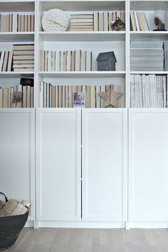 books turned around