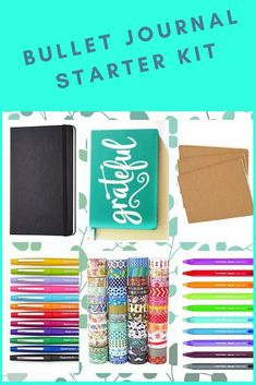 Starting a Bullet Journal is so much easier with this starter kit...#ad it will be shipped only in USA
