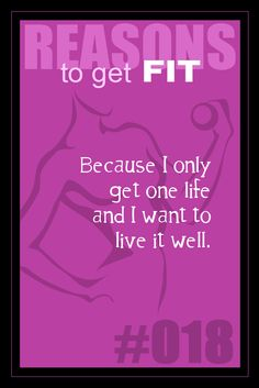 365 Reasons to Get Fit - #018
