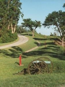 Vicksburg National Military Park; Vicksburg, MS is one of the stops along Classic Adventures' 6-day tour of Mississippi's Natchez Trace and the Ante-Bellum South. #cycling; #bicycle tours