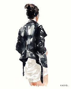 Wall paper watercolor quotes watercolour 31 Ideas for 2019 Watercolor Quote, Watercolor Sketchbook, Watercolor Paintings, Mode Poster, Illustration Mode, Watercolor Fashion, Sketch Painting, Anime Comics, Fashion Sketches