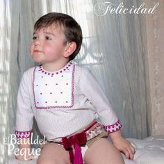 Conjunto Bebé Niño de Beatriz Montero Colección Felicidad