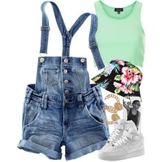 Untitled #1110, created by power-beauty on Polyvore   Except the hat**