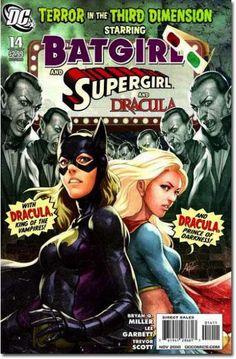 Batgirl, Supergirl, Dracula