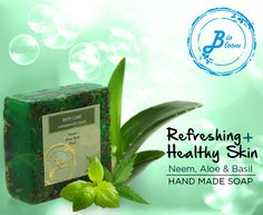 Filled with the goodness of Neem, Aloe Vera & Basil, our 'Hand Made' Soap gives you a refreshing & healthy skin. Offering a special festive 30% off on our soap range. Use coupon code BIOSOAPS30, valid till Aug 31st.