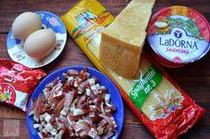 Spaghete carbonara cu smantana - CAIETUL CU RETETE Dairy, Cheese, Food, Salads, Essen, Meals, Yemek, Eten