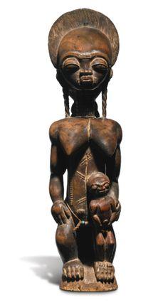 Baule Maternity Group, Ivory Coast | lot | Sotheby's