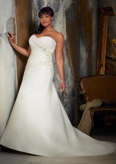 Julietta by Mori Lee 3132 Crystal Beaded Embroidery on Organza #bridal #dress #bride #wedding #dress #vestido #novia #gown #bigday