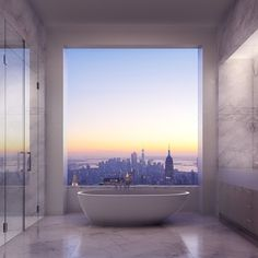 Want to know looks like a penthouse for $ 95 million? Fabulous apartments created this year by architect Rafael Viñoly and Deborah Burke.
