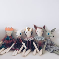 deers and dolls by virginie jolie