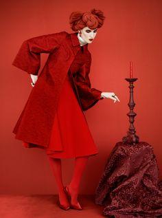 Ruby Aldridge by Erik Madigan Heck for Harper's Bazaar Russia November 2013