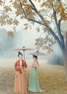 Historical Reconstruction: 宋仕女 Song Dynasty ladies, China
