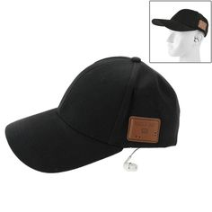 [USD12.03] [EUR10.97] [GBP8.59] Bluetooth Muisc Headset Sunshade Snapback Hat for iPhone 6 & 6 Plus / iPhone 5 & 5S and Other Bluetooth Devices(Black)