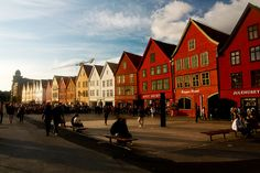 Old Bergen by bozzo2m, via Flickr
