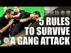 How to Fight Multiple Attackers | 5 Rules to Survive | Wing Chun Techniques - YouTube
