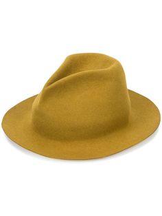 HORISAKI HORISAKI DESIGN & HANDEL - BURNT EDGE HAT . #horisaki #hat