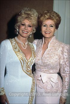 Eva Gabor & Debbie Reynolds (?)