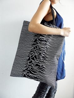 I love me some Joy Division. Tote Bag Joy Division Unknown Pleasures Post Punk Rock New Wave Chic Save The World.