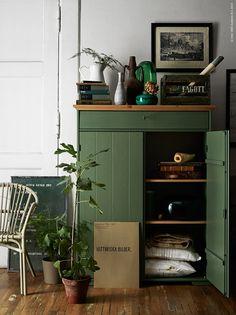 hurdal w scheschrank gr n w sche schr nkchen und schlafzimmer. Black Bedroom Furniture Sets. Home Design Ideas