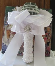 Hey, I found this really awesome Etsy listing at https://www.etsy.com/listing/266579247/wedding-bouquet-holder-create-your-own