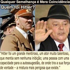 Qualquer Semelhança é Mera Coincidência (Quem foi Hitler?) [DW Brasil] http://www.dw.com/pt-br/quem-foi-hitler-questiona-document%C3%A1rio/a-39440460 ②⓪①⑦ ⓪⑥ ②⑦ #LulaNaCadeia