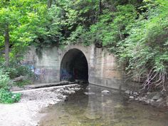 The Allendale train tunnel is located south of Cincinnati, in the woods behind the Allendale trailer park in Elsmere, Kentucky. Some years ago, legend says a man hung himself from a hook that is set above the tunnel entrance. Now, his ghost is said to walk the tunnel, some say, appear still hanging from the hook. There are also reports of disembodied voices, as well as screams coming from inside the tunnel.     There is sometimes confusion with finding it because it's known as a train…