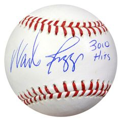 """Wade Boggs Autographed Official MLB Baseball Boston Red Sox """"""""3010 Hits"""""""" PSA/DNA Stock #48267"""