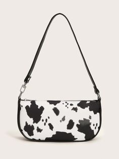 Mini Handbags, Vintage Handbags, Tod Bag, My Bags, Purses And Bags, Aesthetic Bags, Baguette, Cute Comfy Outfits, Cow Print