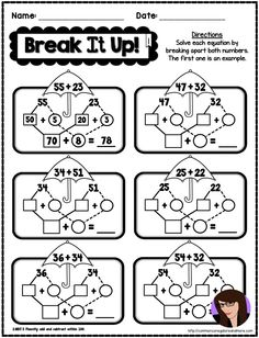 2nd Grade Spring Math Printables