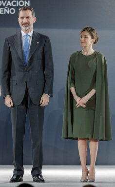 King Felipe and Queen Letizia of Spain attend 2016 Innovation and Design Awards on February 6, 2017 in Alcala de Henares, Spain. The prizes seek to promote the culture of design and innovation in Spain, both in the business sphere and in the whole society.