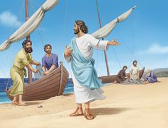 Lesson 1 - Jesus calls His Disciples - Matthew 4:18-25 - Take-home point - Jesus calls me!