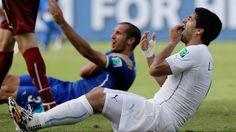 World Cup Fans Go Rabid for Luis Suarez Bite Memes