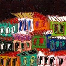 Favelas cielo obscuro 2