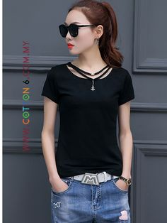T Shirt With Pendants