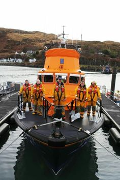 THE RNLI ~ The lifeboat is located in Mallaig, Scotland.