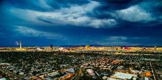 Las Vegas Skyline with storm Hotels And Resorts, Best Hotels, Amazing Hotels, Luxury Resorts, Best Homeowners Insurance, Insurance Companies, Cheap Luxury Hotels, Vegas Skyline, Hotel Secrets