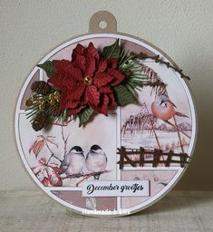Marianne Design, Winter Cards, Cardmaking, Christmas Cards, Decorative Plates, Layout, Table Decorations, Handmade, Home Decor