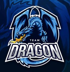 Team Dragon Sport And Esport Logo Vector Template by naulicrea on Envato Elements Dragon Sports, Logo Dragon, E Sport, Sport Wear, Youtube Logo, Sports Team Logos, Game Logo Design, Esports Logo, Sports Wallpapers