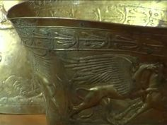"""The """"once-in-a-century"""" discovery of a set of solid gold bongs has offered a glimpse into the little-understood lives of Scythians, who ruled vast areas of Eurasia for a thousand years 2,400 years ago."""