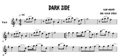 The best transcription of the song Dark Side - Alan Walker / Music sheet with backing track to play along in any instrument in C, violin cover. Alan Walker, All Falls Down, Transcription, Dark Side, Sheet Music, Songs, Link, Popular Music, Music Sheets